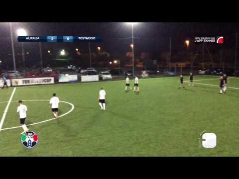 Alitalia Calcio 5-3 Testaccio C8 | Serie A - 2a | Gol Parade