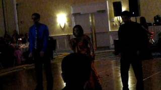 Mitus dance to a remix of old and new indian songs