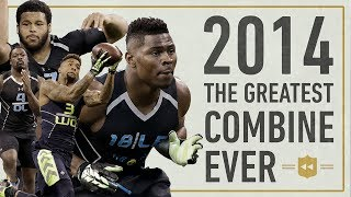 The Most Star-Studded Combine in NFL History!   Vault Stories