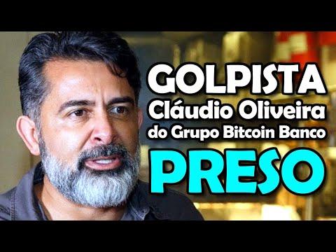 Golpista Claudio Oliveira do Grupo Bitcoin Banco GBB é Preso Pela Polícia Federal