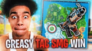 iRunYew reacts to NEW Greasy Grove & NEW MAP (insane high kill solo win)