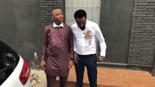Nigeria Presidential Aspirant Omoyele Sowore  Town Hall meeting Barcelona , Spain