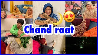 Chand raat | eid ki taiyari| balcony makeover | decoration | ibrahim family | vlog