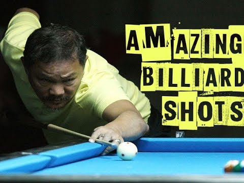 "Efren ""The Magician"" Reyes 2018 - Top 25 Amazing Billiard Shots - 9 Ball"