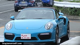 """ポルシェ 911 ターボ カブリオレ """"0-100 フルスロットル ライド & 同乗..."""