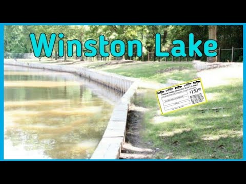 Winston Lake NC * I Had No Fishing Licenses*