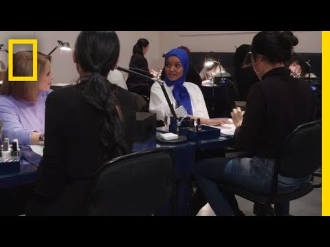 Breaking Barriers as a Muslim Model | America Inside Out With Katie Couric