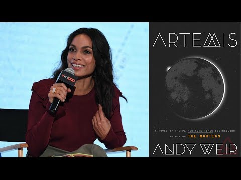 "ROSARIO DAWSON ""ARTEMIS"" PANEL (NEW YORK COMIC CON 2017)"