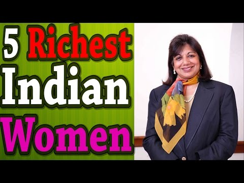 5 RICHEST INDIAN WOMEN & THEIR MONEY (India's top 5 Richest Women - FEMALE)
