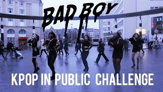 [KPOP IN PUBLIC CHALLENGE] Red Velvet (레드벨벳) 'Bad Boy' Dance cover by Move Nation from Belgium