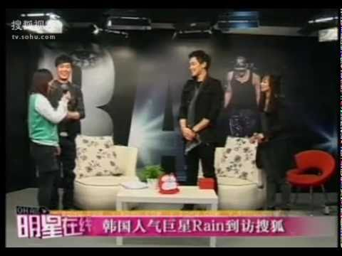 [ENG SUB] _Rain interview @ SOHU_Star Chat in China  Korean Ambassdor [P.2]
