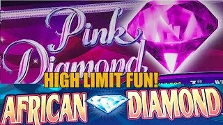 HIGH LIMIT SLOT MACHINE FUN-LIVE PLAY-AFRICAN DIAMOND-PINK DIAMONDS(HIGH LIMIT SLOT MACHINE FUN-LIVE PLAY-AFRICAN DIAMOND-PINK DIAMONDS Like Vegas Slot Videos by Dianaevoni on Facebook: ..., 2016-12-26T14:30:02.000Z)