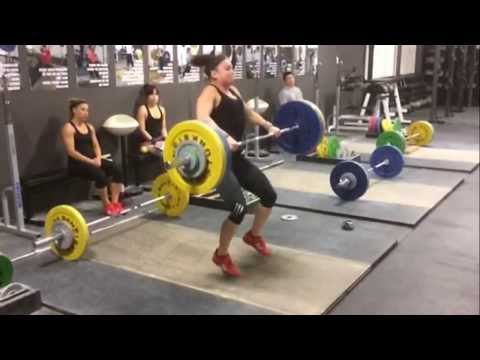 Alyssa Clean 98 Kg (216 Lbs) At 63 Kg