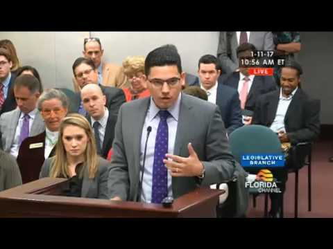 The People Speak at The Florida House Health Quality Committee - January 11, 2017