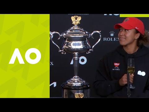 "Naomi Osaka: ""I was extremely nervous"" press conference (F) 