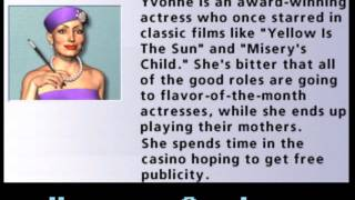 Hoyle Casino 2008 - Yvonne quotes
