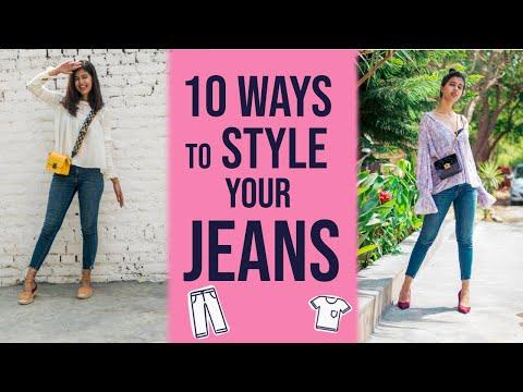 10 Different Ways to Wear 1 JEANS   Sejal Kumar. http://bit.ly/2zwnQ1x