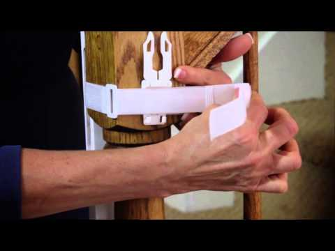 Dreambaby Gate Adaptor Panel  - How To Fit Video | Babysecurity