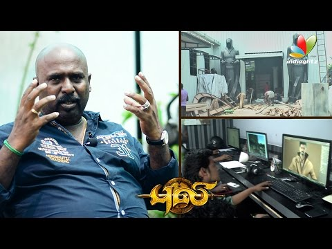 Puli Making : Lilliput character designing was very tough - T. Muthuraj Art Director Interview