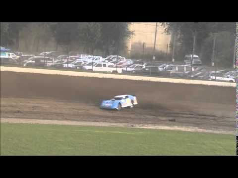 Late Model Heat #2 from Portsmouth Raceway Park 6/7/14.