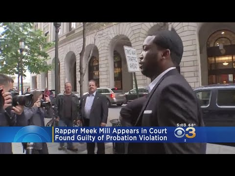 Rapper Meek Mill Appears In Court
