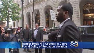 Rapper Meek Mill Appears In Court
