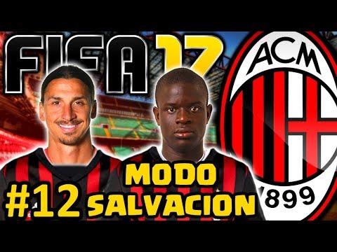 fifa-17-ac-milan-modo-carrera-#12- -vuelve-zlatan-ibrahimovic-y-gratis- -modo-salvacion