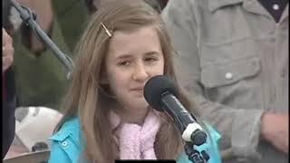 Bài phát biểu chấn động về vấn đề phá thai (abortion) của cô bé 12 tuổi - Lia Mills | Trí Thức VN