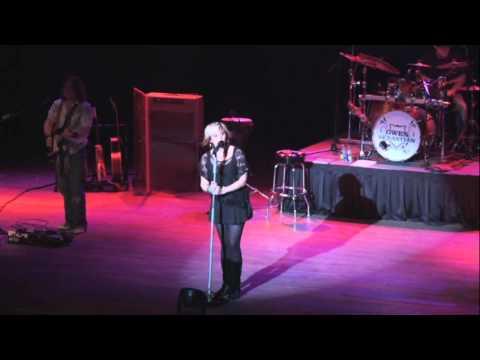 Gwen Sebastian Performing Long Live Love