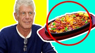 Top 10 Anthony Bourdain Food Experiences!
