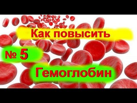 Продукты питания для повышения гемоглобина в крови
