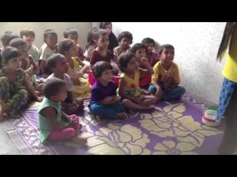 Teaching precious in Mumbai slums