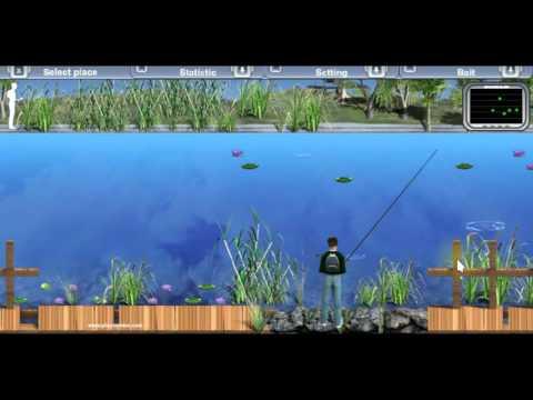 Lake Fishing Lotus Lake - Fishing Game