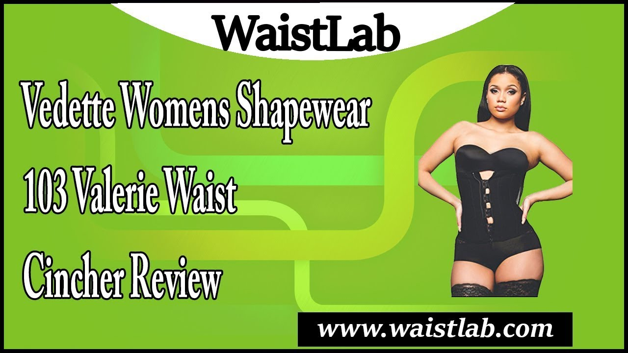 a440cdb164 Vedette Womens Shapewear 103 Valerie Waist Cincher Review - YouTube