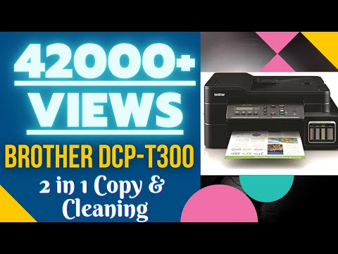 Brother DCP T-300 - Cleaning & ID 2 in 1 photocopy
