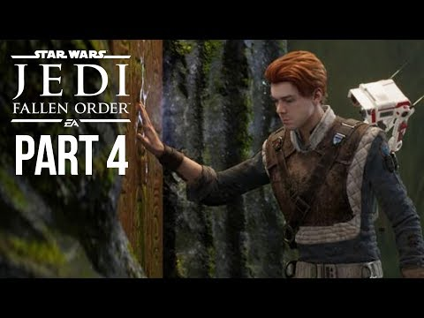 Star Wars Jedi Fallen Order Gameplay Walkthrough Part 4 - USE THE FORCE (Full Game)