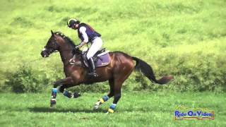 219SC Krista Stevenson on Stanalama Training 3-Day Steeplechase The Event at Rebecca Farm July 2015