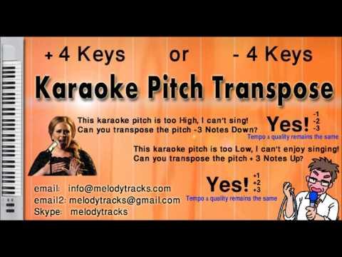 Rahim shah -- Channa ve channa karaoke - www.MelodyTracks.com
