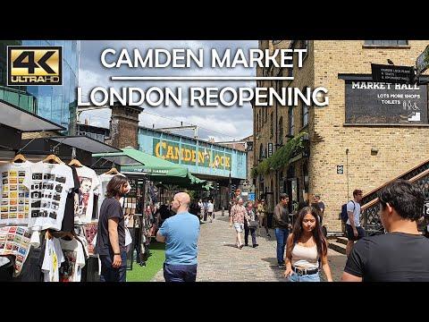 Camden Market 2020 LONDON REOPENING