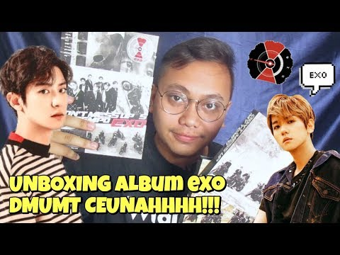 EXO DON'T MESS UP MY TEMPO ALBUM UNBOXING [Bahasa Indonesia]
