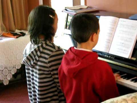 Rocking Robin piano duet