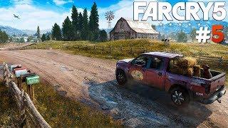 SPALIŁEM SEKWOJE :D   Far Cry 5 [#5]