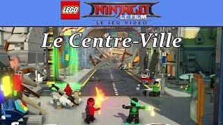 LEGO NINJAGO LE FILM - Le Centre Ville [Mode Libre]