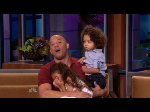 Vin Diesel With His Daughter