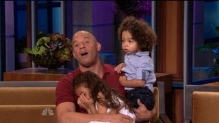 Vin Diesel Interview @ The Jay Leno Show 2013 - (BEST INTERVIEW EVER)..:)