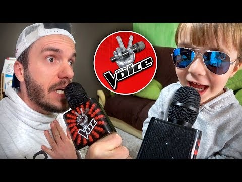 MICROFONE THE VOICE DE BRINQUEDO!! Toys R Us Karaoke Microphone for Kids - The Voice La Voz