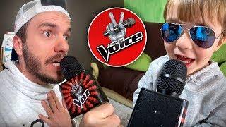 MICROFONE THE VOICE DE BRINQUEDO!! Toys R Us Karaoke Microphone for Kids - The Voice La Voz
