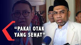 Fadli Zon Komentari Jokowi ke Natuna, Ngabalin: Pakai Otak yang Sehat!