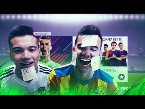 POST-IT EN LA CARA POR GOL | FIFA 18 VS MI HERMANO