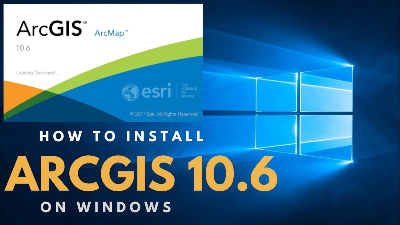 download arcgis desktop 10.6